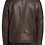 Back View,The Wayland Leather Jacket for Men Handmade by The Designers;Leather Clothiers, Inc/Best of Boston