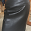 Black Lambskin Leather Pencil Skirt by The Designers; Leather Clothiers, Inc