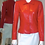 Women's Red Leather Diana Jacket by The Designers; Leather Clothiers, Inc/Best of Boston