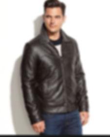 Mens Custom made leather jacket