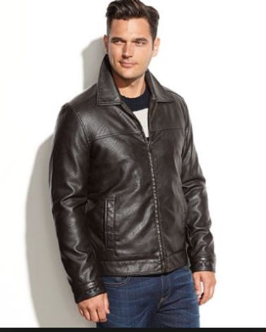 Mens Custom made leather jacket