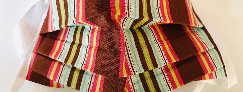 Brown Multi Stripe