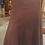 Russet Lamb Suede Leather 8 Gore Riding Skirt/Best of Boston/The Designers; Leather Clothiers, Inc