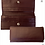 Women's Toffee Leather Flap Front Clutch Wallet/The Designers; Leather Clothiers, Inc/Best of Boston