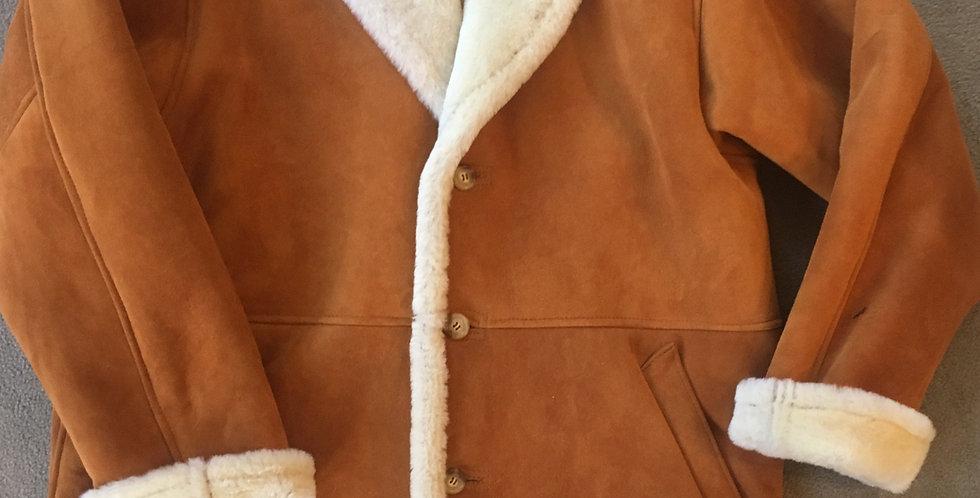 Marlboro Shawl Collar Spanish Merino Shearling Jacket/Custom-made/ Best of Boston