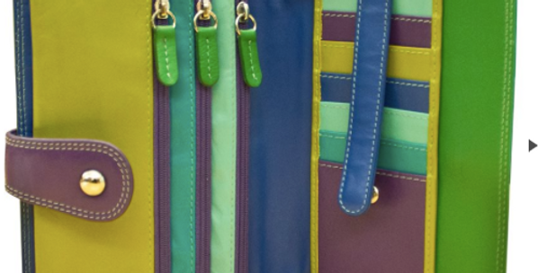Multi-colored cross body