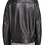 Back View of Men's Black Leather Portland Moto Jacket by The Designers; Leather Clothiers, Inc/ Best of Boston
