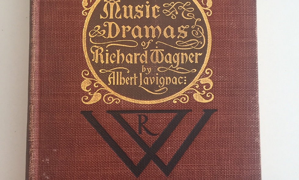 """The music dramas of Richard Wagner "" 1898"