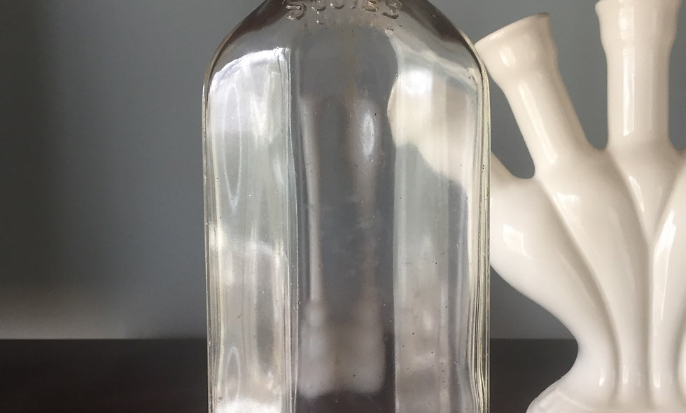 Squibbs Mineral Oil Antique Bottle