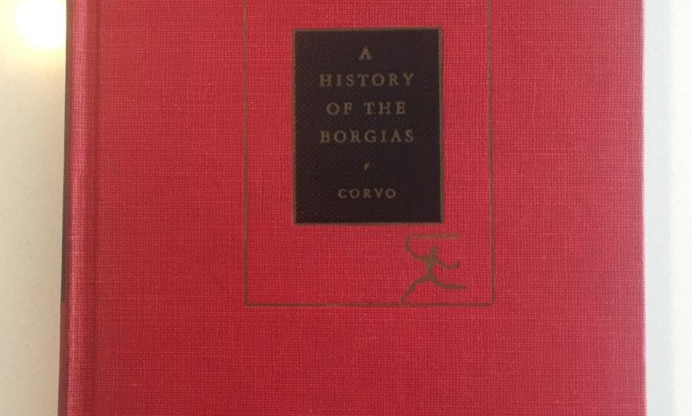 """""""History of the borgias"""" - coevo 1931"""