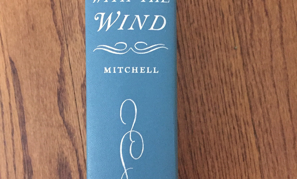 Vintage 1960's Gone with the wind book