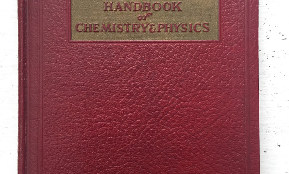 """""""Mathmatical tables from handbook of chemistry and physics"""" 1941"""