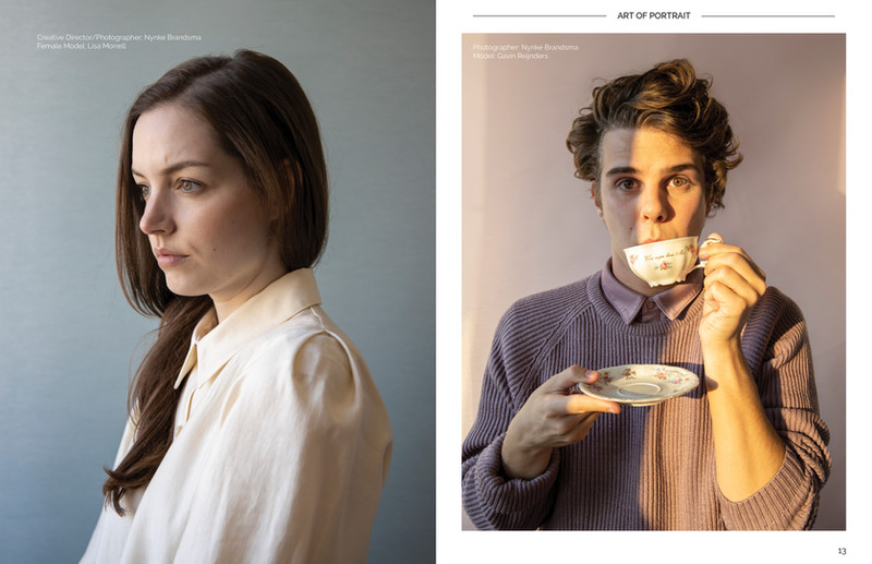 publication photographymagazine 'Art of Portrait, issue 50 (2021)