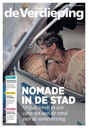 Serie 'Ronnie'published in Trouw de Verdieping (18/12/2019)