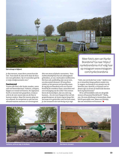 publication weekblad 'Boerderij' (24/11/2020)