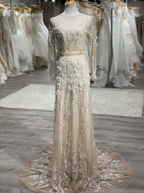 Pedram Couture Petal, Size 10