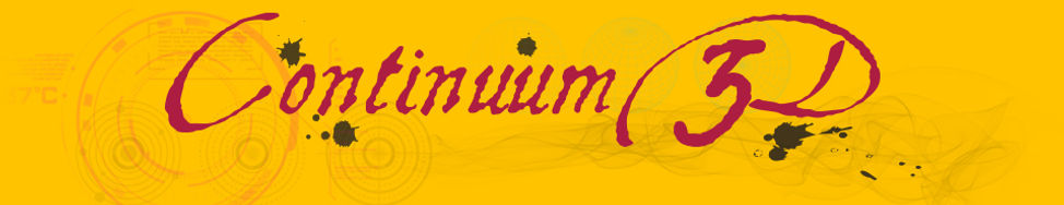 Cotinuum3D 3d model Logo