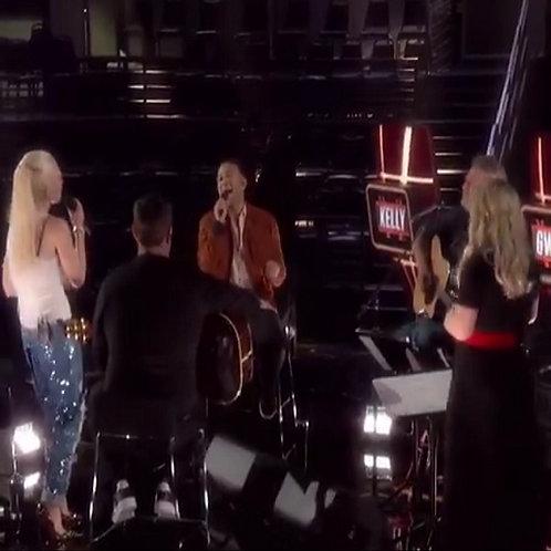 Gwen S, Blake S, Carson D, John L & Kelly C - More Than Words (Voice Live)