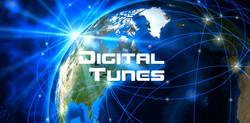 Digital Tunes w Earth Net Cool Logo v7