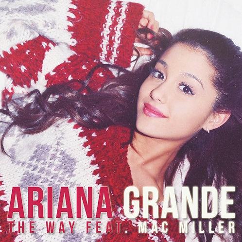 Ariana Grande ft Mac Miller - The Way (New Radio Edit) NM165-4