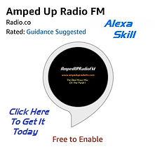 Alexa Skill AmpedUPRadioFM Site Ad Pic.j