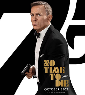 Bond 007 No Time To Die  Movie Ad Pic Oc