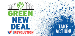 Our Revolution Green New Deal ~ Take Act