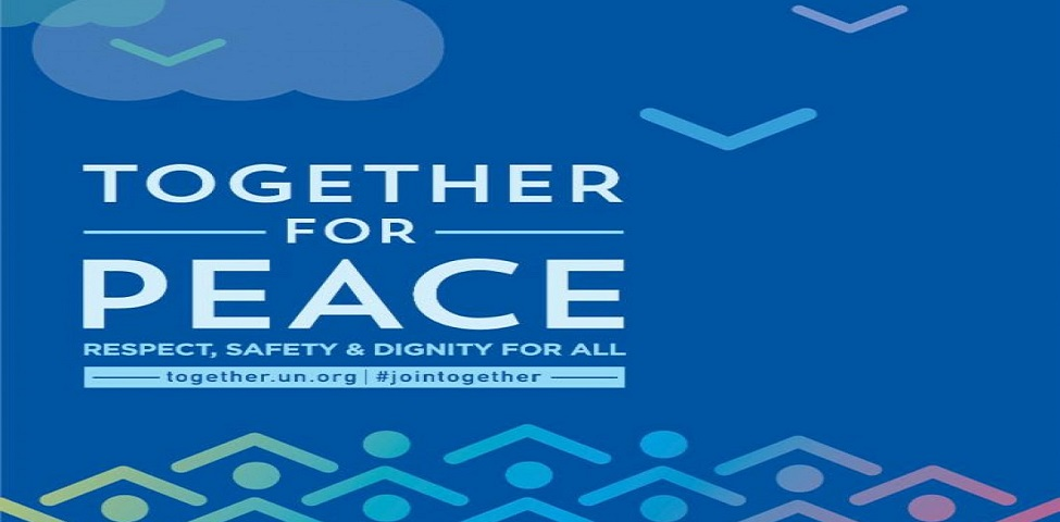Together For Peace #jointogether