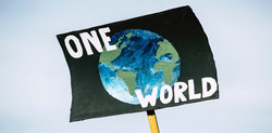 One World Cool Sign