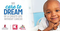 St Judes w Kmart We Care To Dream Ad Pic