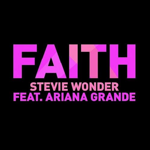 Stevie Wonder ft Ariana Grande - Faith ! (New Radio Edit) NM206-10