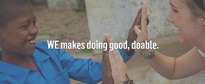 WE Makes Doing Good Doable Link AmpedUPR
