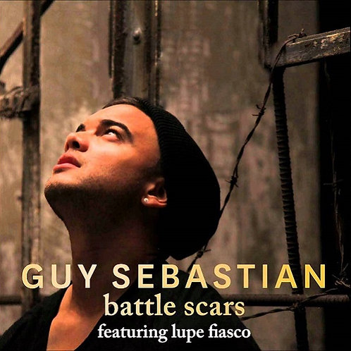 Guy Sebastian & Lupe Fiasco - Battle Scars (New Radio Edit)  NM156-14