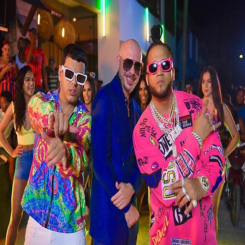 Tito EL Bambino ft Pitbull & EL Alfa - Imagínate ! (Clean Radio Edit 17)
