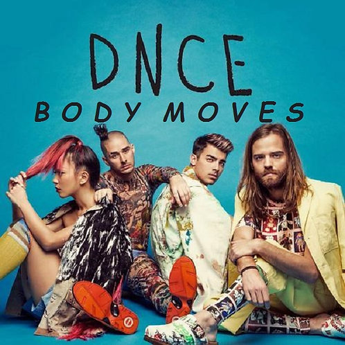DNCE - Body Moves  NM 206-8