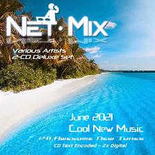 Net-Mix June 2021 Cool New Music Front C