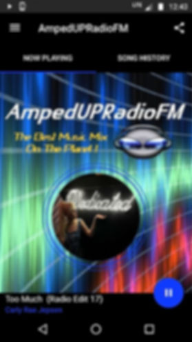 AmpedUPRadioFM Android App Pic w Carly R