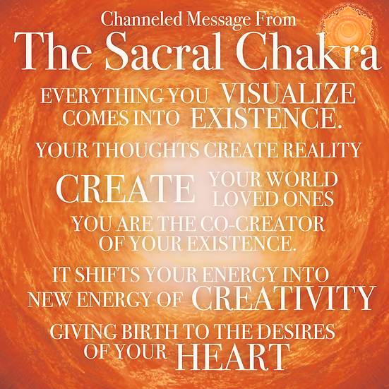 Sacral Chakra Activation