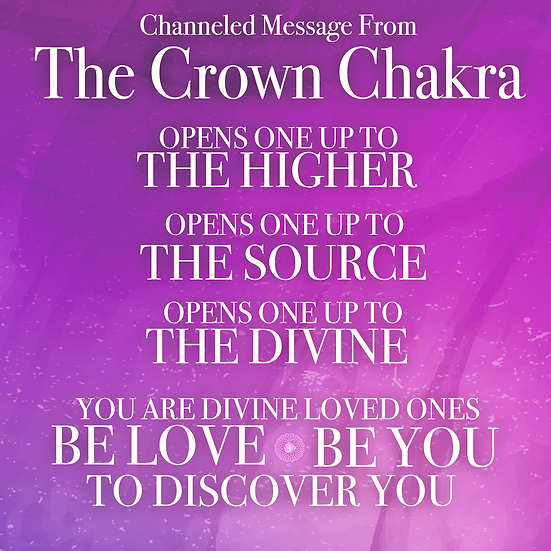 Crown Chakra Activation
