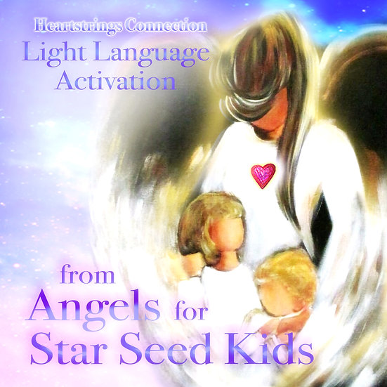 Light Language Activation from Angels for Star seed Kids