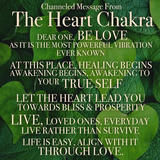 Heart Chakra Activation