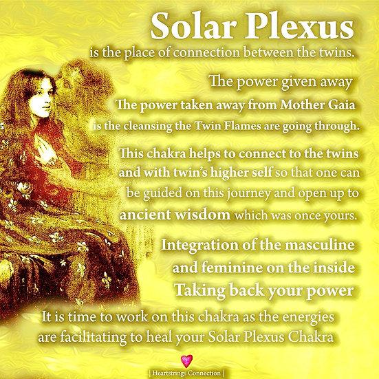 Twin Flames Lord Ganesh Solar Plexus Chakra Activation