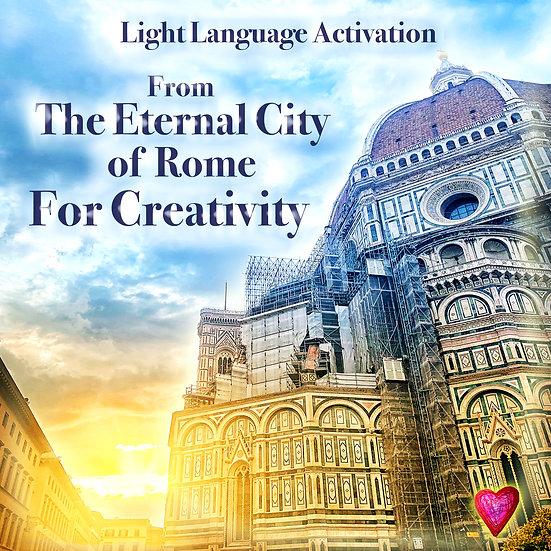Light Language Activation For Creativity