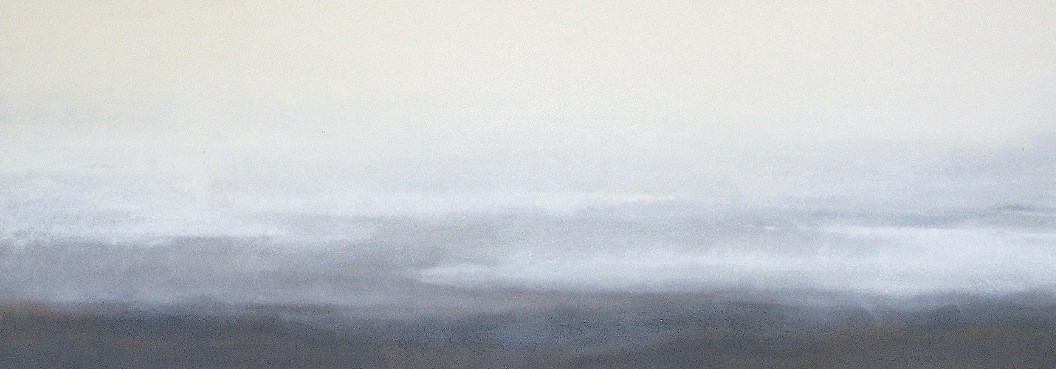 """Untitled No.44, 2012 Gouache on Arches, 24"""" x 73"""" SOLD"""
