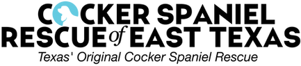 cocker spaniel rescue of east texas