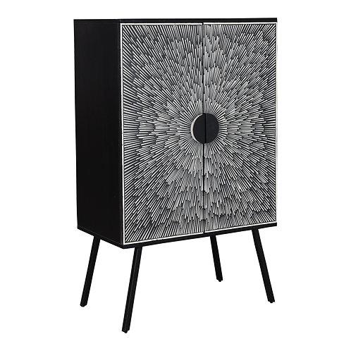 Sunburst Wine Cabinet