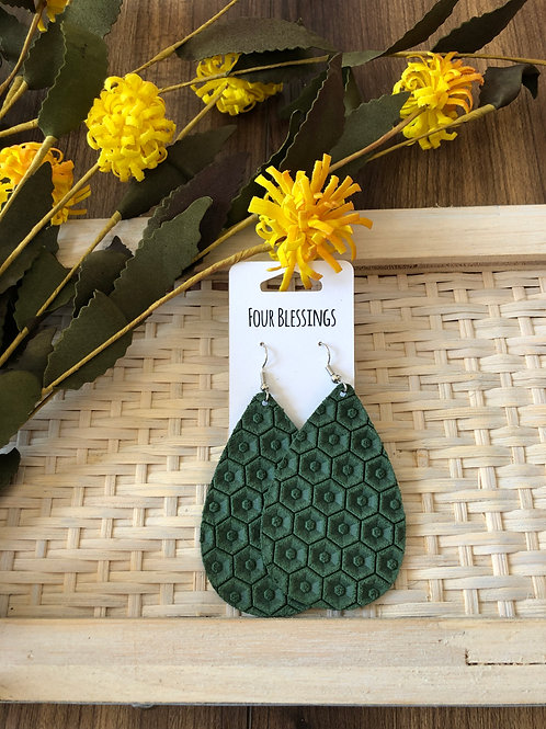 Pine Green Honeycomb
