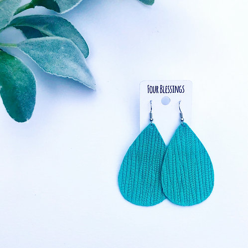 Mint Beach Wave Teardrop