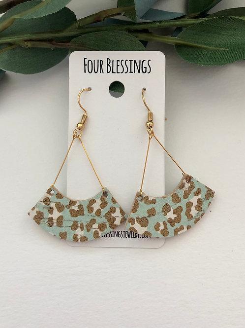 Turquoise & Golden Swings