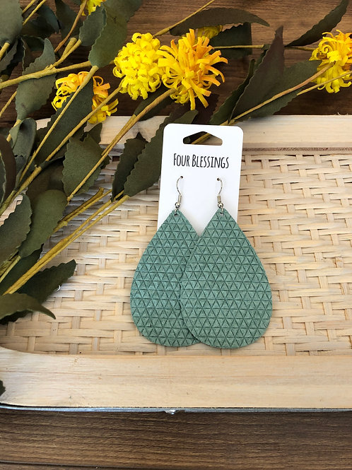 Sage Green Mini Triangles